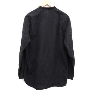 グラフペーパー Graphpaper 17SS ヘンリーネック バンドカラーシャツの買取実績