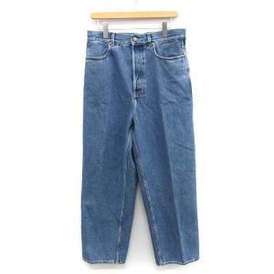 クリスタセヤ CristaSeya Bleached Denim Highwaisted Jeans デニムパンツ ブルーの買取実績