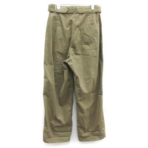 グラフペーパー Graphpaper 19AW MILITARY CLOTH BELTED PANTS ワイドパンツの買取実績