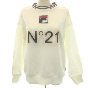 ヌメロヴェントゥーノ N°21 FILA 20SS スウェット トレーナー ロゴ 長袖の買取実績