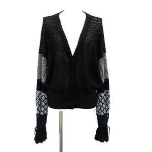 マメクロゴウチ  Mame Kurogouchi 19AW カーディガン ニット Volume Sleeve knit Cardiganの買取実績