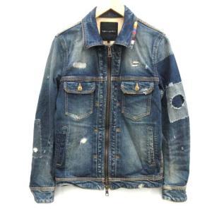 ウノピュウノウグァーレトレ 1PIU1UGUALE3 RAINBOW ZIP G Jacket MRB 195 Gジャン デニムジャケット ダメージ加工の買取実績