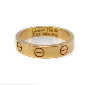 カルティエ Cartier ミニラブリング 指輪 750 K18 50 10号 イエローゴールドの買取実績