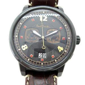 ポールスミス PAUL SMITH ノッティンガムミニ 1959本限定 腕時計 クロノグラフ ステンレス 黒 YA40-S059950の買取実績