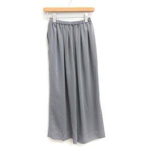 グラフペーパー Graphpaper 19SS Satin wide gather pants ワイドパンツの買取実績
