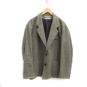 クリスタセヤ CristaSeya Wool And Alpaca Jacket テーラードジャケット グレーの買取実績