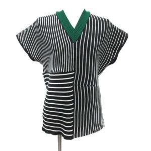 アキラナカ AKIRA NAKA Jeanne knit P O Vネックニット バックチェーン ブラックの買取実績
