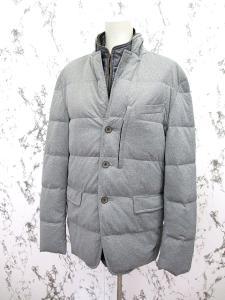 【allegri/アレグリ】 ライナー付き 中綿ジャケット グレー 48/b3