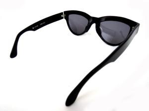 【alain mikli/アランミクリ】 オシャレデザイン サングラス ブラック×レッド/ee579の買取実績