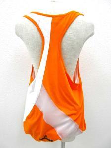 アディダス バイ ステラマッカートニー adidas by Stella McCartney タンクトップ バルーン オレンジ 白 Mの買取実績