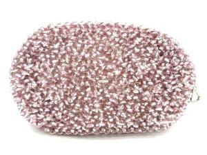 アンテプリマ ANTEPRIMA ワイヤーバッグ ポーチ コスメポーチ ピンク シルバー 美品の買取実績