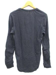 未使用品 ニールバレット Neil Barrett Tシャツ カットソー 無地 フェイクレイヤード 長袖 ネイビー XSの買取実績