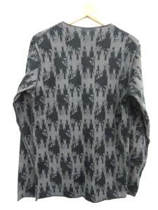 ルシアンペラフィネ LUCIEN PELLAT-FINET Tシャツ カットソー スカル ヘンプ 総柄 長袖 黒 ブラック Sの買取実績