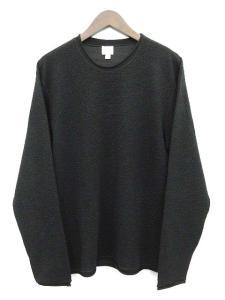 アルマーニ コレツィオーニ ARMANI COLLEZIONI ニット セーター カットソー 長袖 黒 ブラック XL