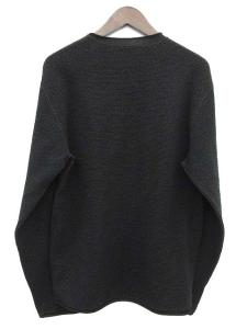 アルマーニ コレツィオーニ ARMANI COLLEZIONI ニット セーター カットソー 長袖 黒 ブラック XLの買取実績