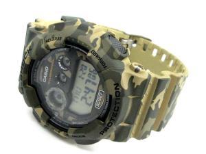 ジーショック G-SHOCK 腕時計 カモフラージュ デジタル GD-120CM グリーン系の買取実績