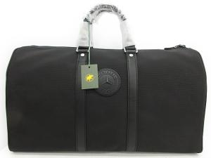 未使用品 ハンティングワールド HUNTING WORLD ボストンバッグ ショルダー メルセデスベンツ キャンバス 黒 /☆K16の買取実績