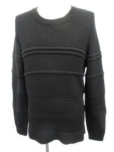 ニールバレット Neil Barrett ニット 長袖 セーター ウール 黒 L /☆Q15 メンズの買取実績