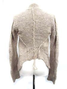 アンドゥムルメステール ANN DEMEULEMEESTER ボレロ カーディガン ニット カシミヤ混 長袖 38 グレー /IC220 レディースの買取実績