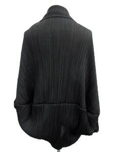 プリーツプリーズ PLEATS PLEASE カーディガン トッパー 黒 /EK918 レディースの買取実績