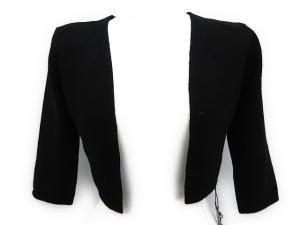未使用品 フォクシー FOXEY カーディガン ボレロ ショート丈 七分袖 38 黒 /EK495 レディースの買取実績