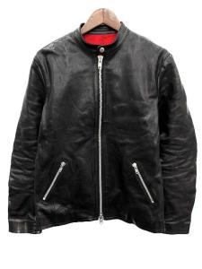 バックラッシュ BACKLASH ライダース ジャケット シングル カウレザー 4 XL 黒 1572-01