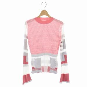 マメクロゴウチ  Mame Kurogouchi 20SS Mixed Knitted Fabric Peplum Pullover ニット カットソーの買取実績