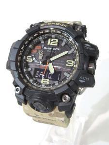 未使用品 ジーショック G-SHOCK マッドマスター タフソーラー 腕時計 カモフラ GWG-1000DC 迷彩 メンズ