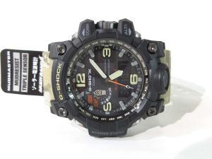 未使用品 ジーショック G-SHOCK マッドマスター タフソーラー 腕時計 カモフラ GWG-1000DC 迷彩 メンズの買取実績