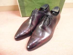 【Berluti/ベルルッティ】 限定カラーシューズ靴レザープレーントゥ/バーガンディサイズ6.5/☆H04「お財布に優しい通販価格」