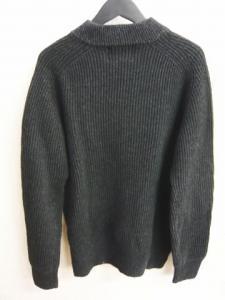 アクネ Acne ニット セーター カットソー Lester Low Vネック 長袖 黒 サイズXS 12AWの買取実績
