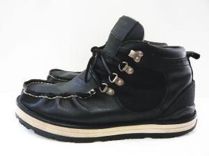 ビズビム VISVIM トレッキングシューズ ショートブーツ Uチップ サイズUS9 黒 ブラックの買取実績