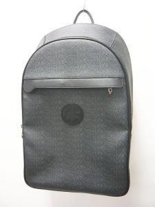 未使用品 ハンティングワールド HUNTING WORLD バックパック リュックサック バッグ レザー ゼブラ柄 グレー