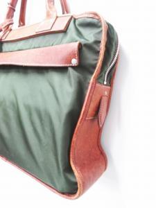 フェリージ Felisi ブリーフケース ビジネスバッグ ハンド ナイロン 緑×茶色 ブラウン 8637/2 メンズの買取実績