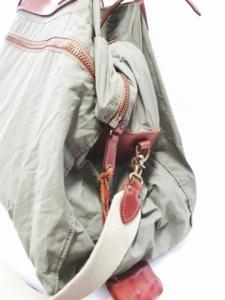 フェリージ Felisi ボストンバッグ トートバッグ ショルダー2WAY P3 ナイロン レザー 緑×茶色 メンズの買取実績