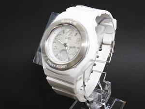 未使用品 ベビージー Baby-G 腕時計 ジェミーダイアルシリーズ アナログ クオーツ式 ハート BGA-100-7BJF 白 ホワイト