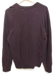 アクネ Acne ニット セーター ウール カシミヤ混 長袖 Vネック 紫系 Sの買取実績