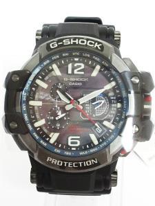 未使用品 ジーショック G-SHOCK 腕時計 電波 GRAVITYMASTER クロノグラフ アナログ スカイコックピット GPW-1000-1AJF 黒の買取実績