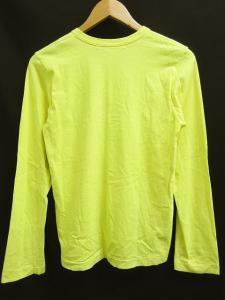 コムデギャルソンコムデギャルソン COMME des GARCONS COMME des GARCONS Tシャツ カットソー コットン100% 長袖 クルーネック 無地 蛍光 黄 Sの買取実績