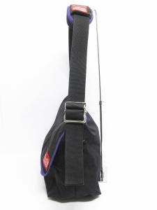 ビームス BEAMS マンハッタンポーテージ Manhattan Portage バッグ ショルダー メッセンジャーバッグ キャンバス 黒 ブラック 紫 メンズの買取実績