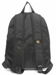 アディダス adidas リュックサック デイパック バッグ ロゴ 黒 ブラック ゴールドの買取実績