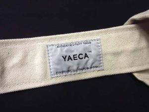 ヤエカ YAECA ツールバッグ トート 白 ホワイト Lの買取実績