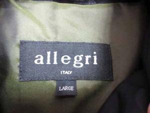 アレグリ allegri ダウンジャケット 黒 ブラック Lの買取実績