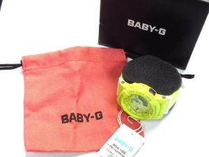 ベビージー Baby-G 腕時計 BGA-185 ランニング レモンイエロー 黄の買取実績