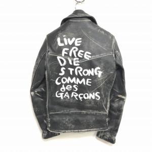 コムデギャルソン COMME des GARCONS × Lewis Leathers 2012AW 青山限定 ライトニング ライダースジャケット の買取実績