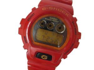 【G-SHOCK/ジーショック】 DW-6900CB 腕時計 クレイジーカラーズ レッド