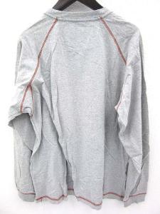 【X-LARGE/エクストララージ】 ロンT Tシャツ 霜降り ラグラン 長袖 グレー Lの買取実績