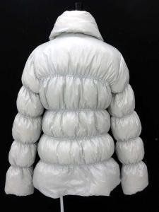 アディダス adidas ダウンコート ショールカラー ライトグレー OT 秋冬 160520の買取実績