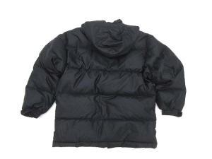アディダスオリジナルス adidas originals ダウンジャケット ジップアップ フード 黒 size M-L 秋冬 160730の買取実績