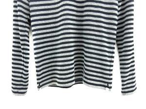 5351プールオム 5351 POUR LES HOMMES Tシャツ リエンエステル ボーダー 長袖 黒 グレー size 2 160916の買取実績